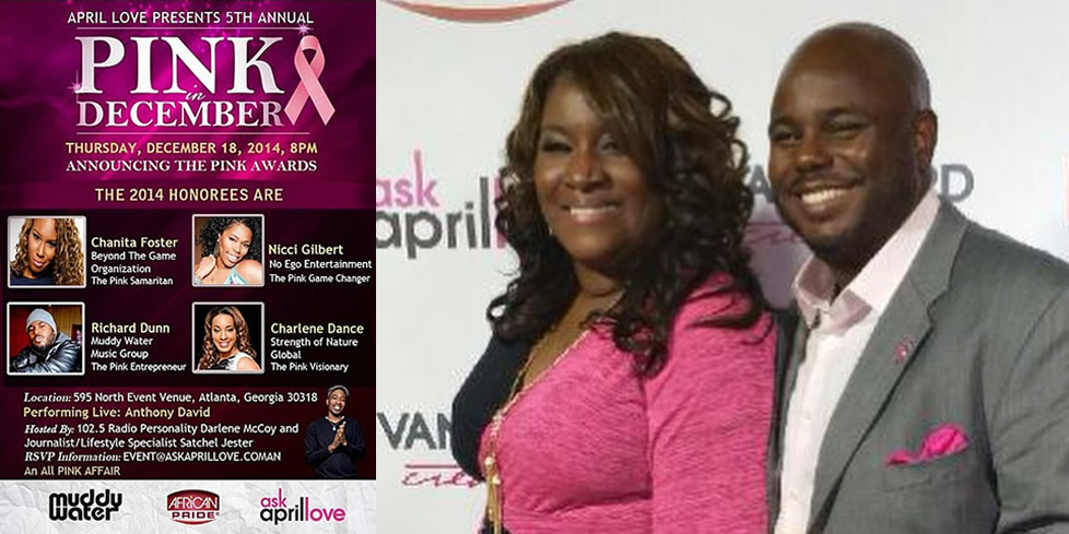 "April Love's ""Pink Awards"" Honor Richard Dunn"